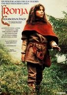 Ronja Rövardotter - German Movie Poster (xs thumbnail)