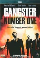 Gangster No. 1 - Swedish Movie Cover (xs thumbnail)