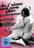 Je t'aime moi non plus - German DVD cover (xs thumbnail)