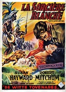 White Witch Doctor - Belgian Movie Poster (xs thumbnail)