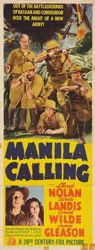 Manila Calling - Movie Poster (xs thumbnail)