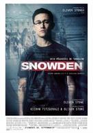 Snowden - Estonian Movie Poster (xs thumbnail)