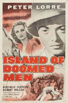 Island of Doomed Men - Re-release poster (xs thumbnail)