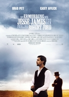 The Assassination of Jesse James by the Coward Robert Ford - German Movie Poster (xs thumbnail)