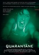 Quarantine - German Movie Poster (xs thumbnail)