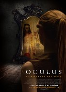 Oculus - Italian Movie Poster (xs thumbnail)