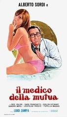 Il medico della mutua - Italian Movie Poster (xs thumbnail)