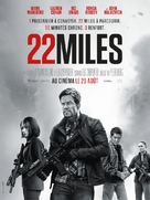 Mile 22 - French Movie Poster (xs thumbnail)
