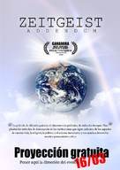 Zeitgeist: Addendum - Spanish Movie Poster (xs thumbnail)