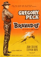 The Bravados - Danish Movie Poster (xs thumbnail)