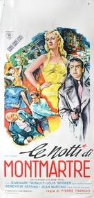 Les nuits de Montmartre - Italian Movie Poster (xs thumbnail)