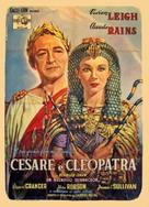 Caesar and Cleopatra - Italian Movie Poster (xs thumbnail)