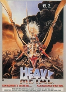 Heavy Metal - German Movie Poster (xs thumbnail)