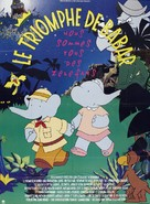 Babar: The Movie - French Movie Poster (xs thumbnail)