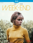 Week End - French Blu-Ray movie cover (xs thumbnail)