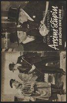 Arséne Lupin - German poster (xs thumbnail)