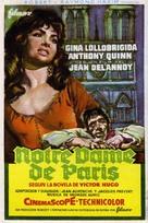 Notre-Dame de Paris - Spanish Movie Poster (xs thumbnail)