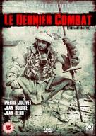 Le dernier combat - British DVD cover (xs thumbnail)