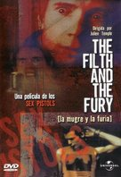 The Filth and the Fury - Spanish DVD cover (xs thumbnail)