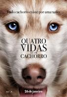 A Dog's Purpose - Brazilian Movie Poster (xs thumbnail)
