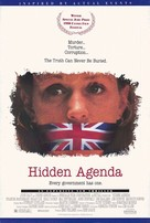 Hidden Agenda - British Movie Poster (xs thumbnail)