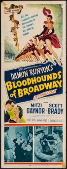 Bloodhounds of Broadway - Movie Poster (xs thumbnail)