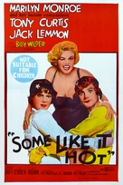 Some Like It Hot - Australian Movie Poster (xs thumbnail)