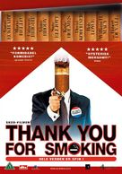 Thank You For Smoking - Danish DVD movie cover (xs thumbnail)