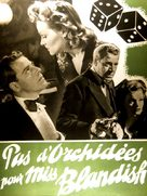 No Orchids for Miss Blandish - French Movie Poster (xs thumbnail)