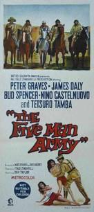 Esercito di cinque uomini, Un - Australian Movie Poster (xs thumbnail)