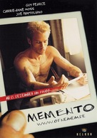 Memento - German Movie Poster (xs thumbnail)