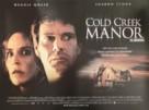 Cold Creek Manor - British Movie Poster (xs thumbnail)