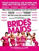 Bridesmaids - British Movie Poster (xs thumbnail)