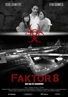 Faktor 8 - Der Tag ist gekommen - German Movie Poster (xs thumbnail)