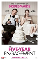 The Five-Year Engagement - Australian Movie Poster (xs thumbnail)