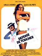 L'infermiera - French Movie Poster (xs thumbnail)
