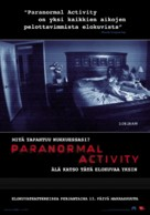 Paranormal Activity - Finnish Movie Poster (xs thumbnail)