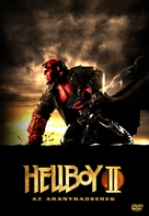 Hellboy II: The Golden Army - Hungarian Movie Cover (xs thumbnail)