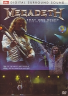 Megadeth: That One Night - Live in Buenos Aires - Movie Cover (xs thumbnail)