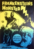 The Evil of Frankenstein - Swedish Movie Poster (xs thumbnail)