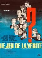 Le jeu de la vérité - French Movie Poster (xs thumbnail)
