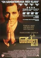 The Godfather: Part III - Swedish Movie Poster (xs thumbnail)
