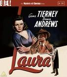 Laura - British Blu-Ray movie cover (xs thumbnail)