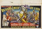 King Richard and the Crusaders - Belgian Movie Poster (xs thumbnail)