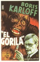 The Ape - Spanish Movie Poster (xs thumbnail)