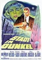 Dark City - German Movie Poster (xs thumbnail)