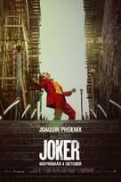Joker - Swedish Movie Poster (xs thumbnail)