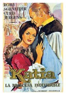 Katia - Spanish Movie Poster (xs thumbnail)