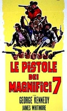 Guns of the Magnificent Seven - Italian Movie Cover (xs thumbnail)