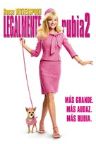 Legally Blonde 2: Red, White & Blonde - Mexican DVD movie cover (xs thumbnail)